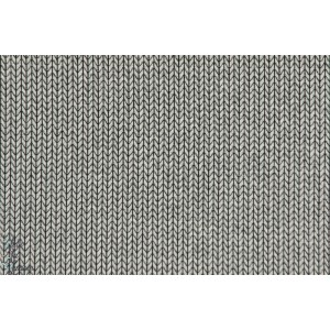 Jacquard bio Hipster Square gris clair