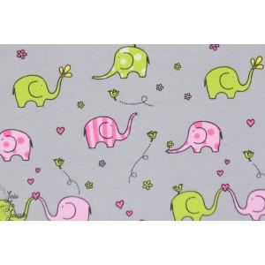 Jersey Sweet Elephants couture bébé enfant