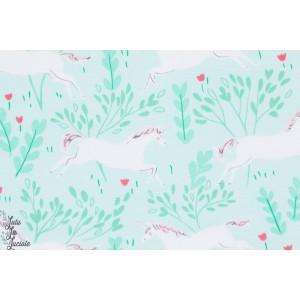 Jersey La forêt aux licornes aqua