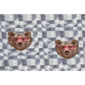 Jersey Bouncy Bear gris