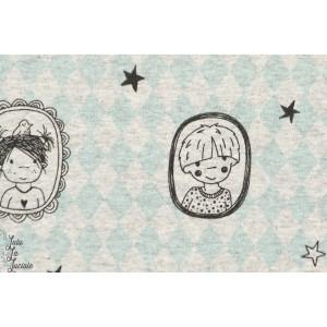 Jersey bio Amulette enfants. Design : SUSALabim pour Lillestoff GOTS-certifié
