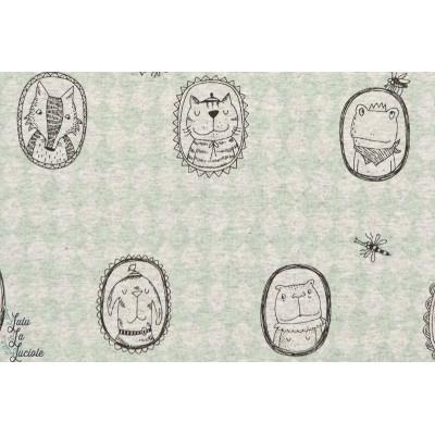 ERSEY BIO Amulettes Animaux DesignSUSALabim pour Lillestoff GOTS-certifié