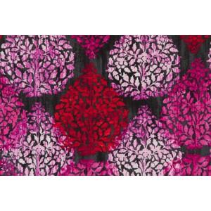 Popeline  garden allure 15431-206 rouge rose noir robert kaufman