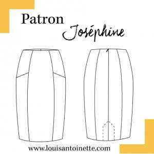 Patron couture femme mode  Jupe JOSEPHINE Louis et Antoinette