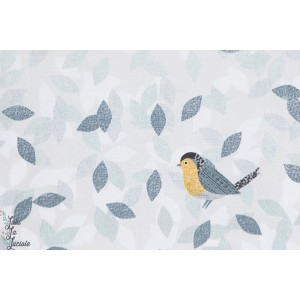 Popeline Birdsong BIRD1226 dashwood studio joanne cocker oiseau