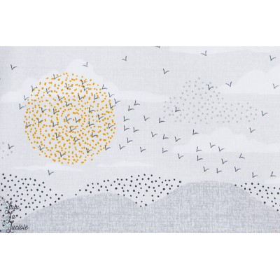 Popeline BIRDSONG Horizon -BIRD1227dashwood Studio Joanne Cocker