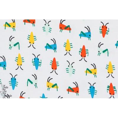 jersey Bio Cloud9 sauterelles insecte enfant géométrique couleur