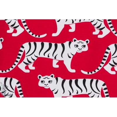 jersey Bio Paapii Tigres rouge paapii couture garçon