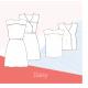 Patron couture femme  robe/Blouse DAISY Slow sunday Paris