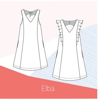 patron robe Elba couture femme slow sunday