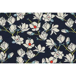 jersey Agf Magnolia Nightfall art gallery fabric