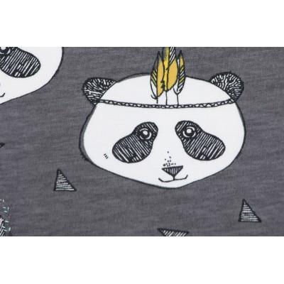 Jersey Bio Panda Gris Elvelyckan Design