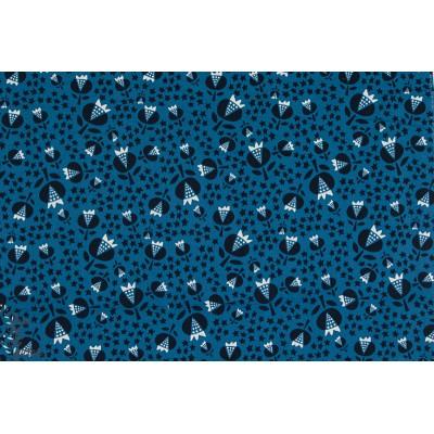Viscose Thistle Ocean Cotton Steel couture femme mode rayon bleu