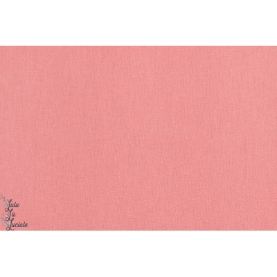 Lin - coton - rose couture