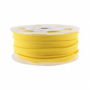 Passepoil jaune 22mm