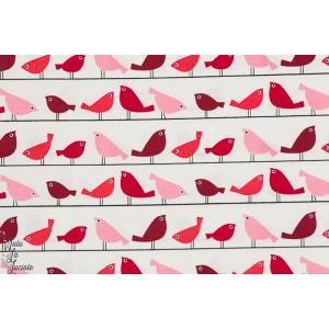 Popeline  Gossip - potins d'oiseaux copenhagen print factory