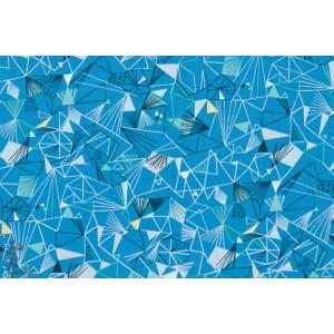 Popeline Ice Mid Blue - NORR1219BLE - glace bleu hiver norrland dashwood studio popeline bethan janine