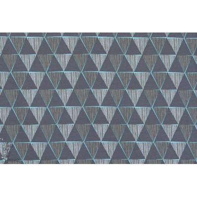 Jersey Bio Geometric, grau, Design : Enemenemeins pour Lillestoff