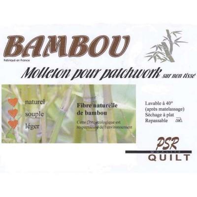 Molleton Bambou 180*250 plaid patch quilt mavada psr